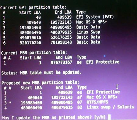 how to make mbr partition