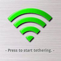 Wireless tether root users