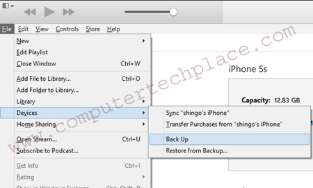 backup-via-itunes-first
