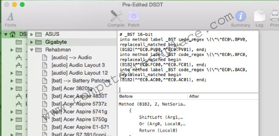 Understanding Hackintosh DSDT Patching and Clover